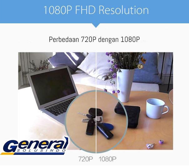 Ip camera Xiaomi Small SquareBox warna putih 1080P_12323923