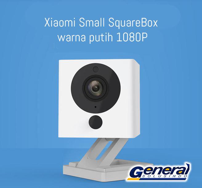 Ip camera Xiaomi Small SquareBox warna putih 1080P_1232393