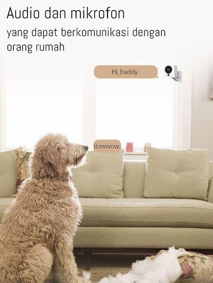 Ip camera Xiaomi Small SquareBox warna putih 1080P 1232394