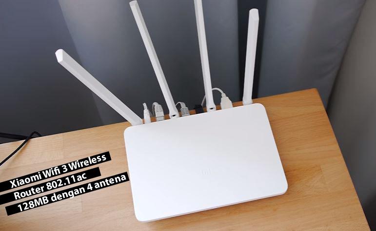 Xiaomi-Wifi-3-Wireless-Router-802.11ac-128MB-dengan-4-antena_123282299