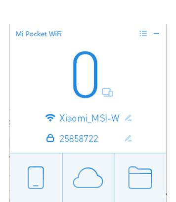 cara mengunakan Xiaomi mi wifi akan muncul seperti dashboard