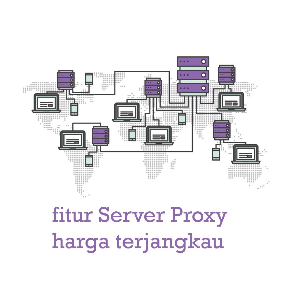 fitur Server Proxy harga terjangkau