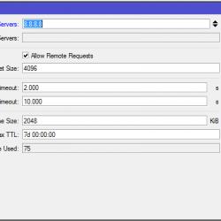 Tutorial untuk setting internet di mikrotik Step by Step dns settings