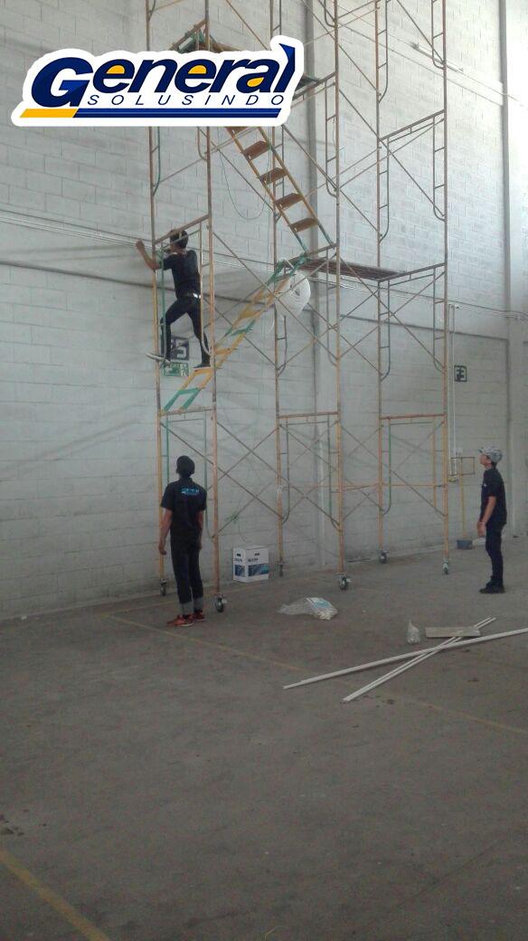 generalsolusindo jasa instalasi lan gedung dan warehouse