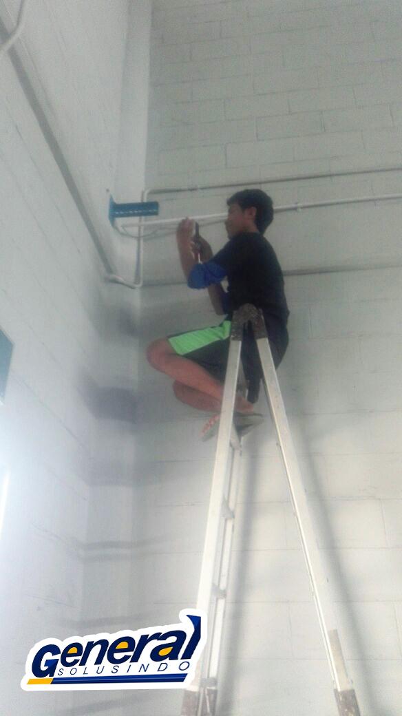 jasa instalasi ip camera gudang dan warehouse