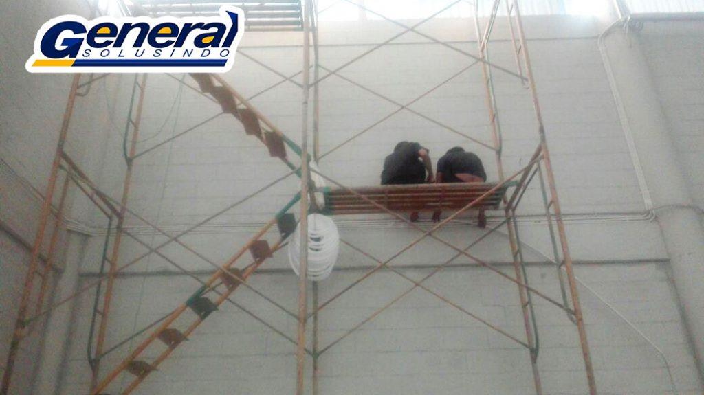 jasa instalasi lan gedung dan warehouse blibli.com