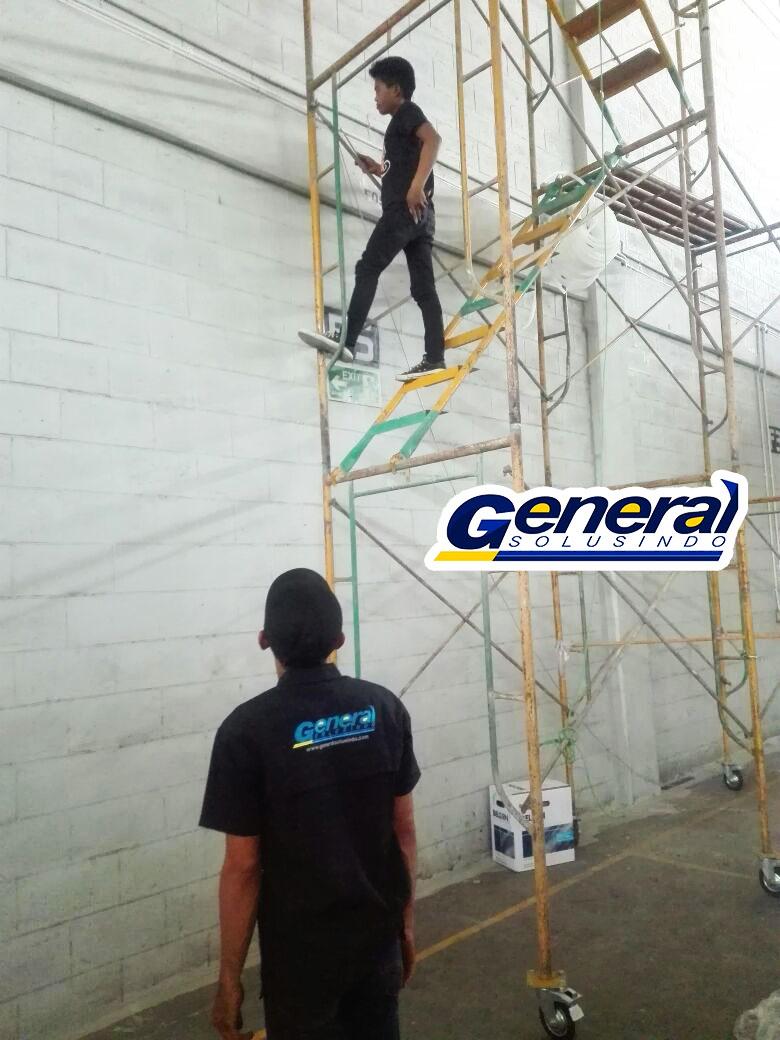 jasa instalasi lan gedung dan warehouse sesuai deadline