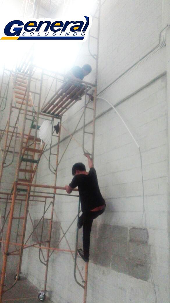 jasa instalasi lan gedung dan warehouse