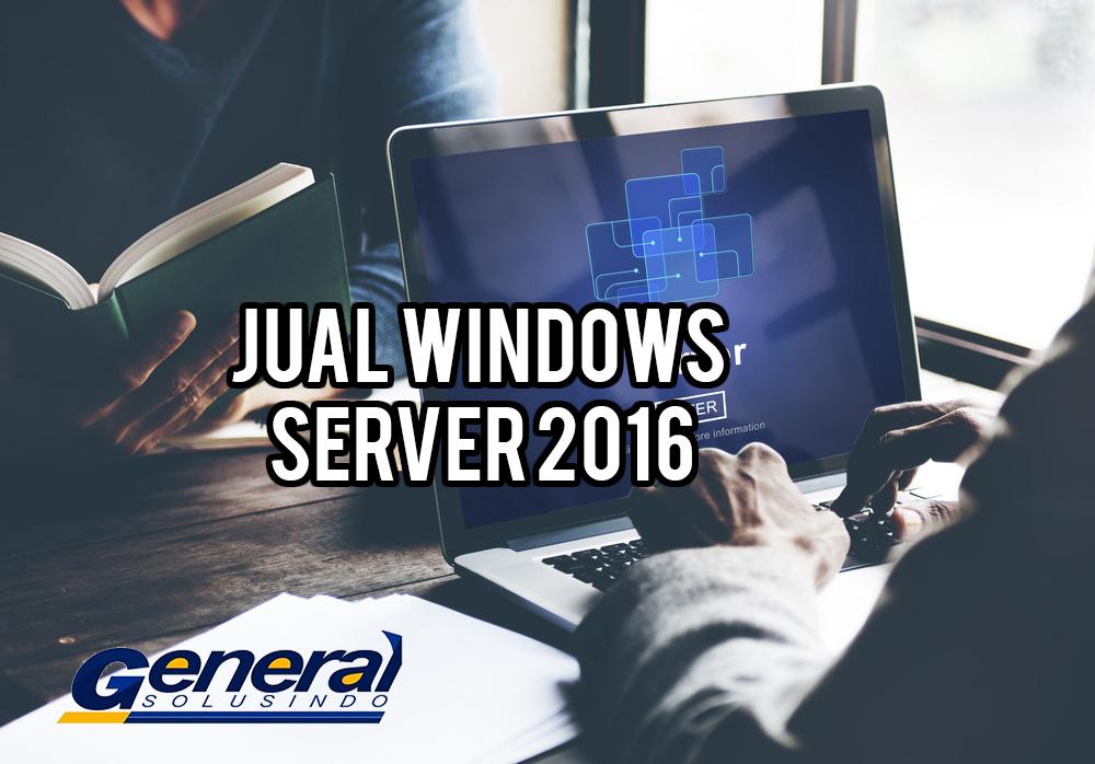 Jual windows server 2016