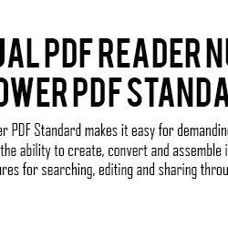 jual PDF reader nuance power pdf standard