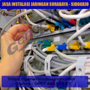 Jasa instalasi jaringan surabaya - sidoarjo 2