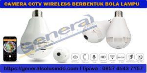 camera cctv bentuk lampu
