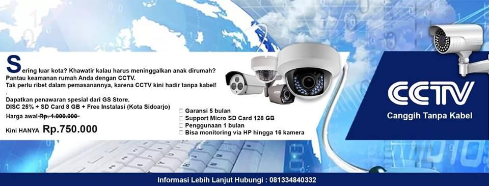CCTV Wifi Surabaya Sidoarjo