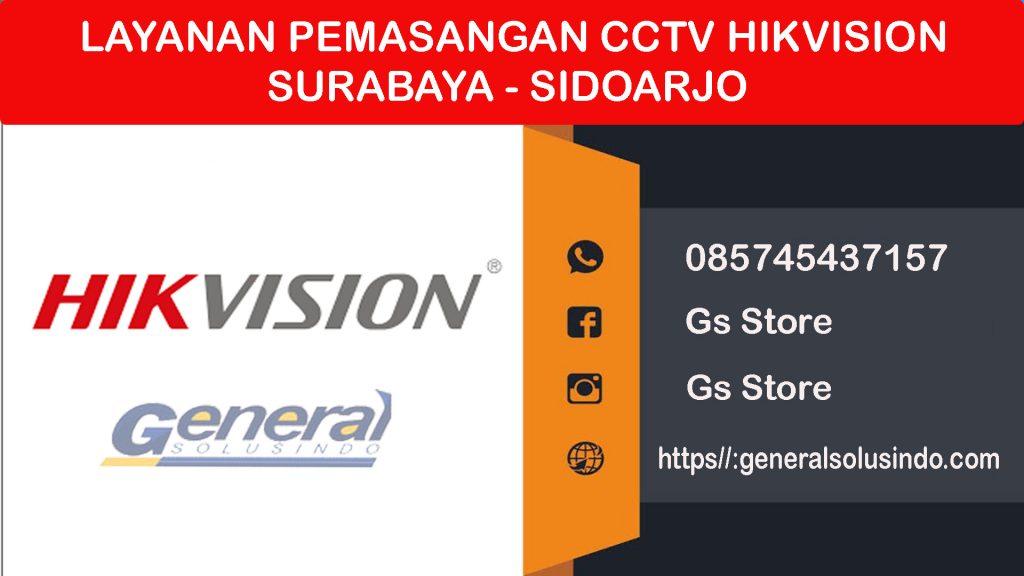 Pemasangan CCTV Hikvision di Surabaya